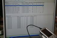 Терминал сбора данных. Передача данных по USB